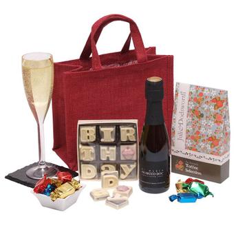 Coffret d'Anniversaire : Vin et Chocolats