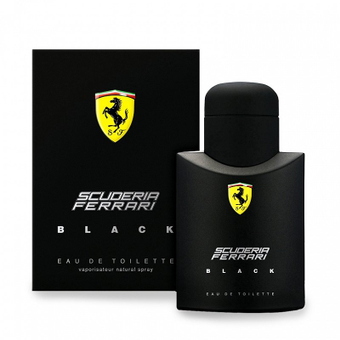Scuderia Ferrari Black 75ml