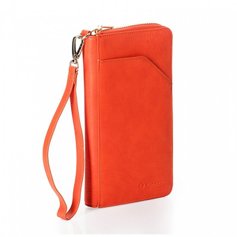 Orange Vlando travel wallet