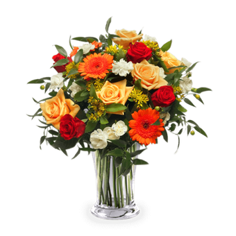 Energie Florale : Mix de Fleurs Orange