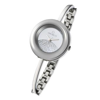 Glitter Damenuhr Silber