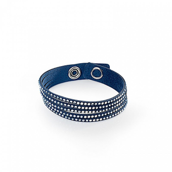 Pulsera Simple Twist Azul