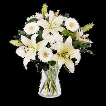 Blumen für Beerdigungen