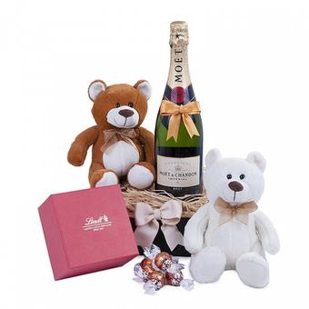 Misie i szampan