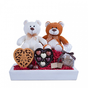 Douce Surprise : Chocolats et Peluches