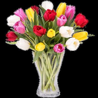 envoyer un bouquet de tulipes color es floraqueen. Black Bedroom Furniture Sets. Home Design Ideas