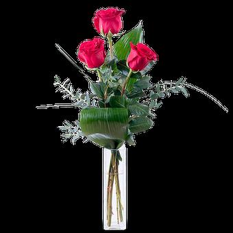 Te Quiero: 3 Rosas Rosas