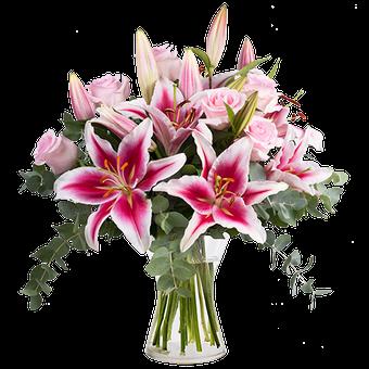 Frescura Sutil: Rosas y Lirios