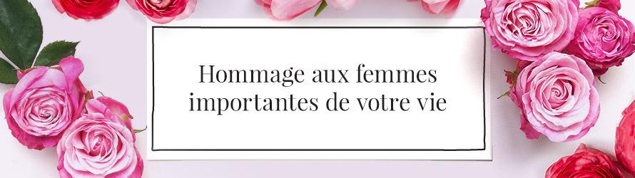 Fleurs pour la Journée de la Femme