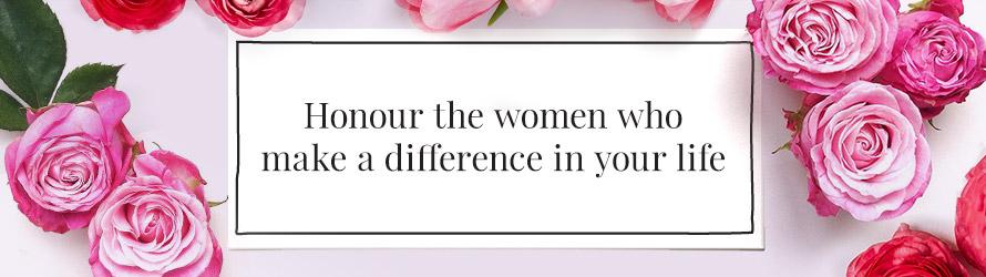 Flowers Online for International Women's Day