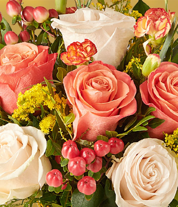 Sending a bouquet is a way of saying<BR>I'm thinking of you