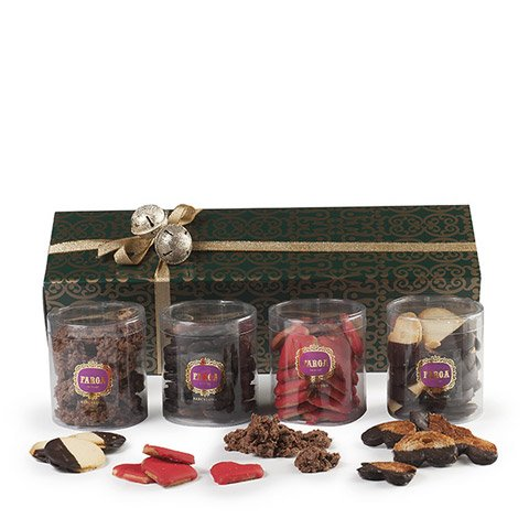 'Delicious selection' of tea biscuits in gift box