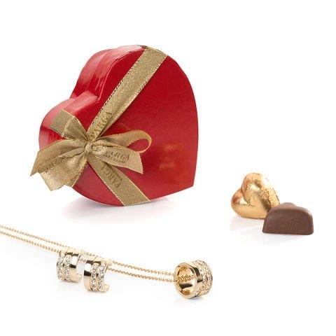 Heart of chocolate