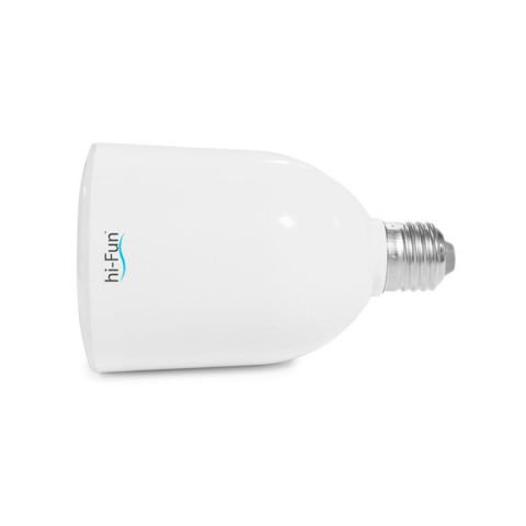 Ampoule Hi-Fun LED avec haut-parleur intégré