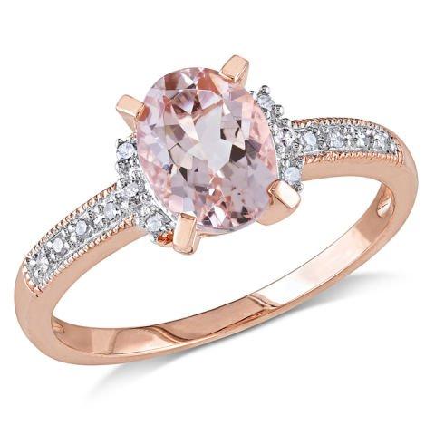 Anello d'argento con diamanti