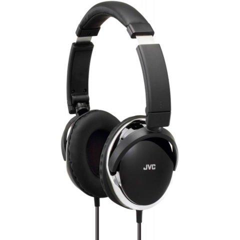 Słuchawki JVC HA-S660 B + Czarny, męski portfel Vlando