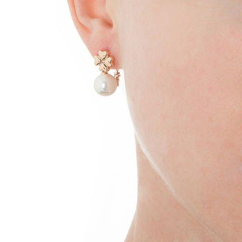 Perlen Glücksohrringe