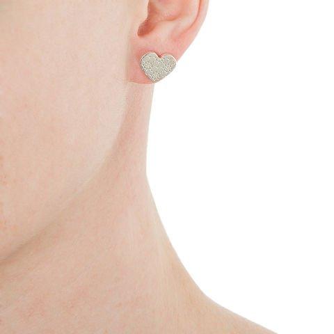 Ohrringe mit Herzchen