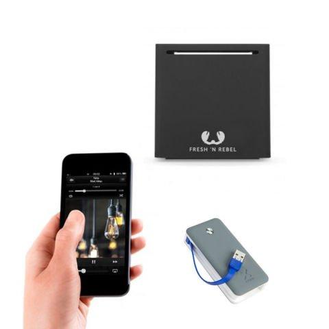 Fresh N Rebel portable speaker + external battery
