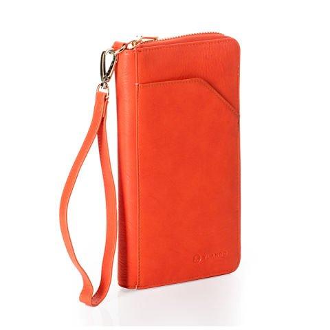 Reisebrieftasche in Orange von Vlando