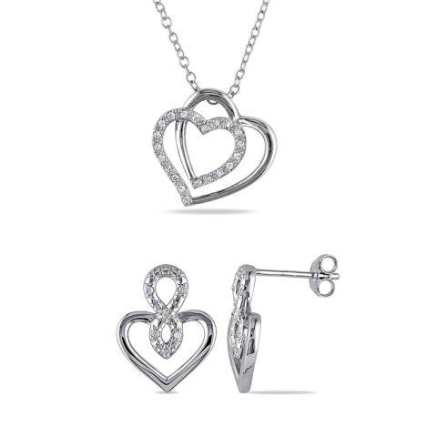 """Silver love"" set"