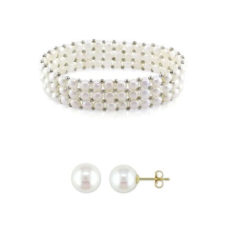 """The white pearl"" set"