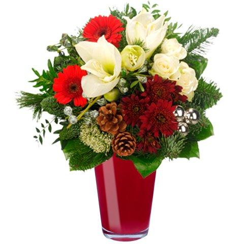 Neues Jahr, neues Ich: Lilien und Gerbera