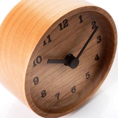 Table clock Muku by Lemnos