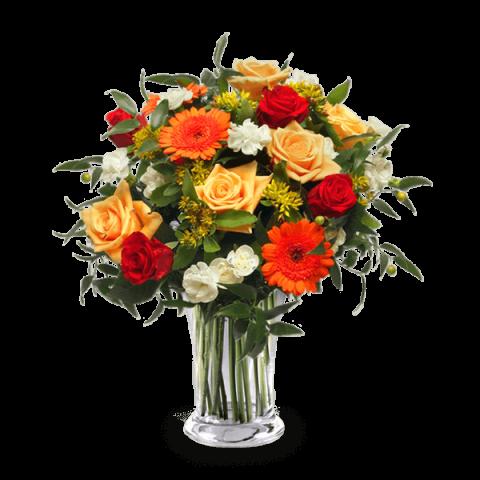 Energía Floral: Mezcla de Flores Naranjas