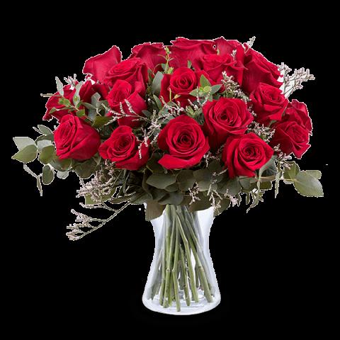 Bukiet Cud Miłości: 24 czerwone róże