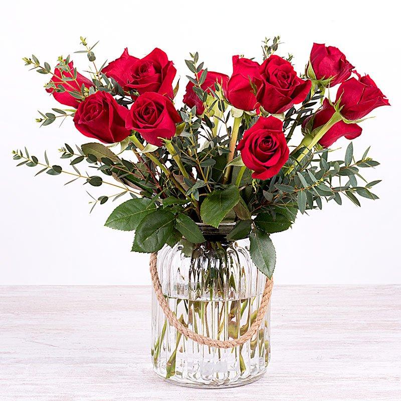 Gran romance - 12 rosas rojas