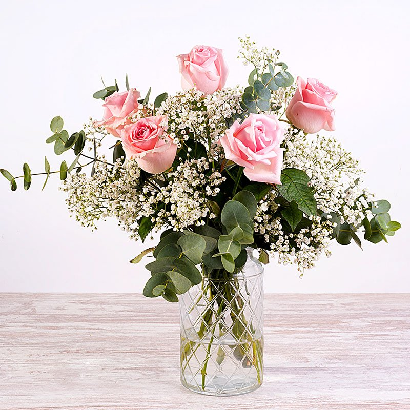 Amor - Rosas y Paniculata
