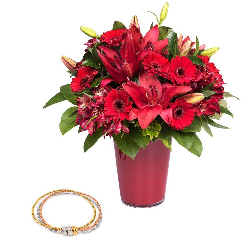 Envoyer un bouquet de fleurs et bijou domicile floraqueen for Envoyer des fleurs a domicile