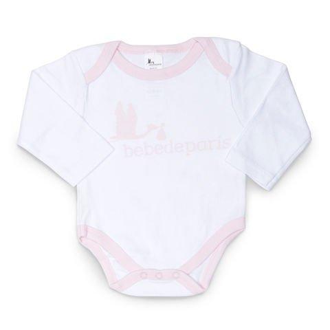 Pinker Storch Set