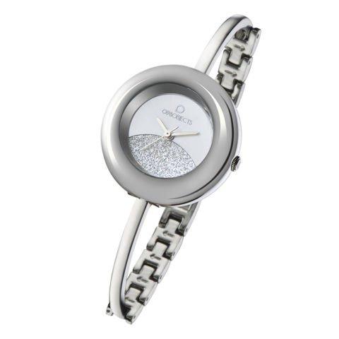 Zegarek Srebrny Glitter