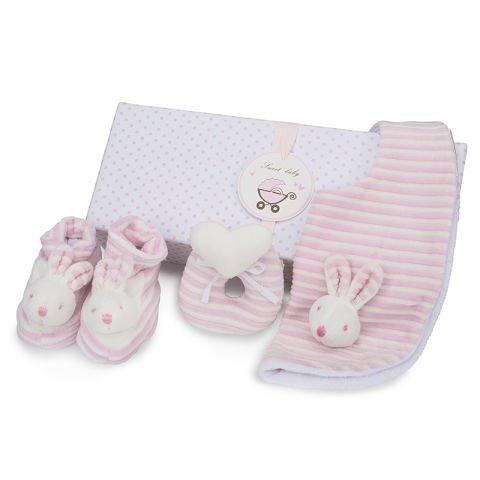 Set Coniglietto Rosa