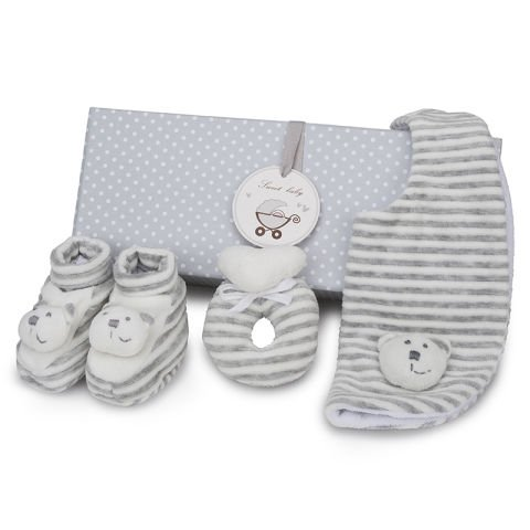 Grey Teddy Set