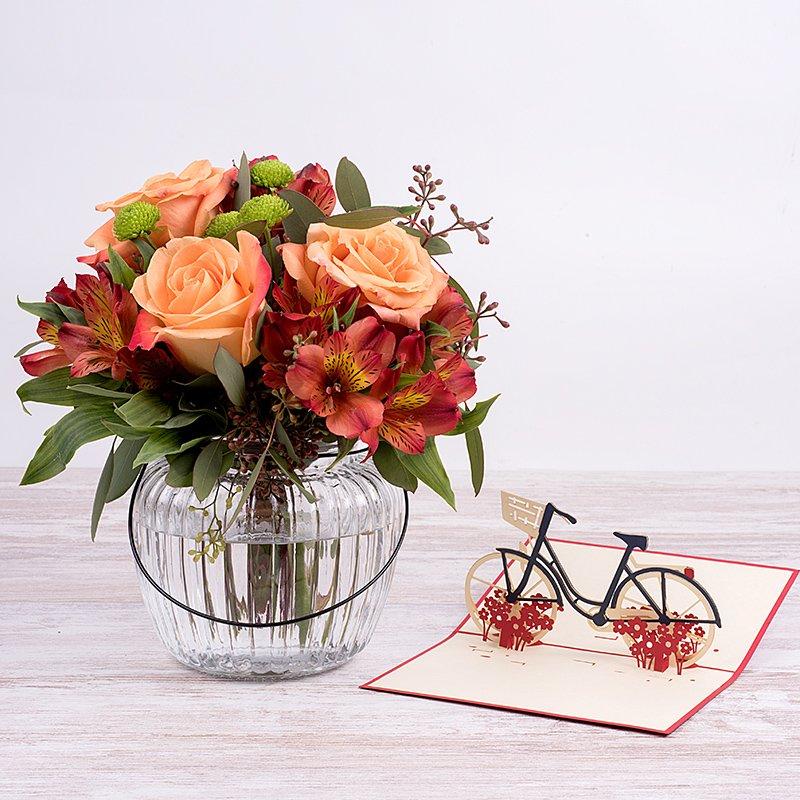 Mini bouquet otoñal
