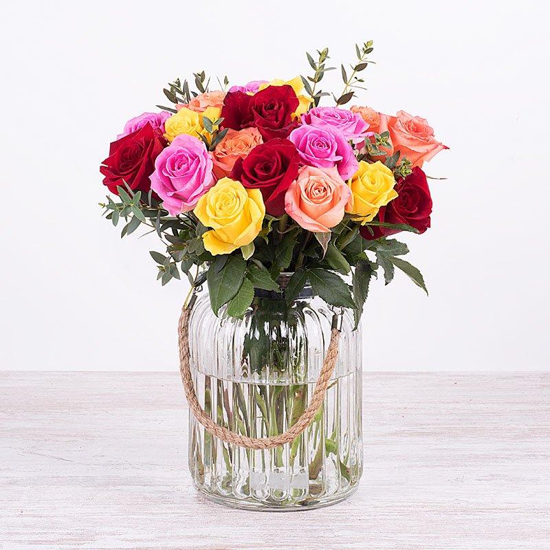 Colores de primavera: 20 rosas