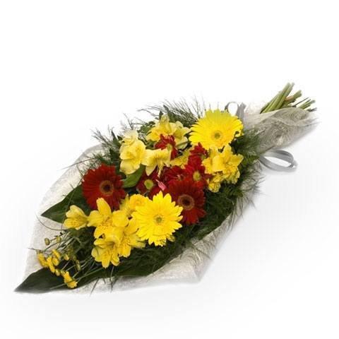 Eleganckie Pożegnanie: pogrzebowy bukiet