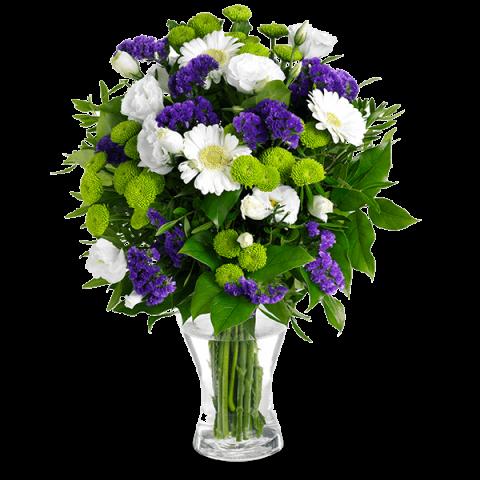 Floral Fantasy: Gerberas and Lisianthus
