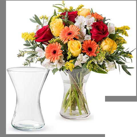 Livrer un bouquet de roses et gerberas floraqueen for Livrer un bouquet
