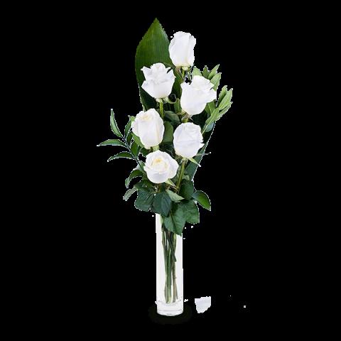 Envio De Ramos De Rosas Blancas A Domicilio Floraqueen - Imagenes-de-ramos-de-rosas-blancas