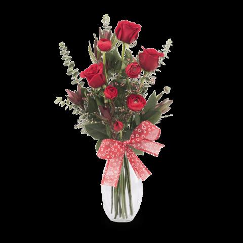 Romance Apasionado: rosas, safari, ranúnculos