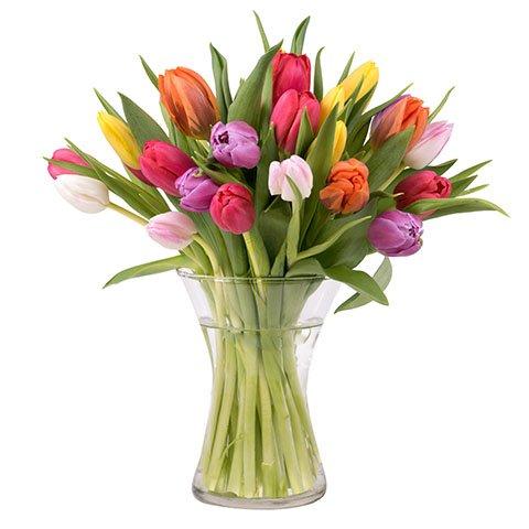 Bukiet Wiosenna Radość: 20 tulipanów