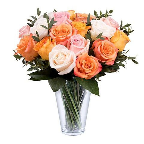 Pétalos Vintage: Mix de Rosas