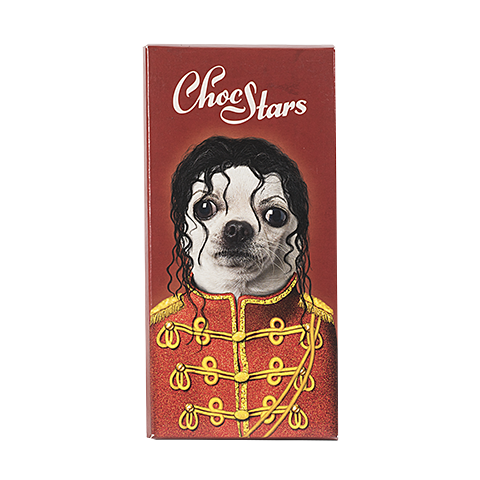 Tableta de chocolate Michael Jackson