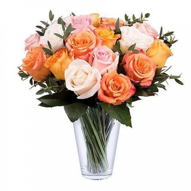 Envoyer un bouquet de roses orange domicile floraqueen for Envoyer des fleurs a domicile