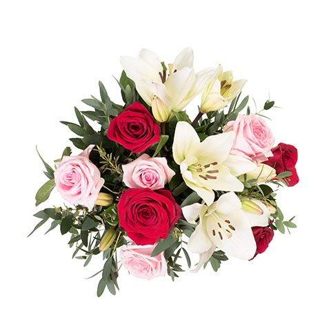 Cocktail d'Amour : Roses et Lys