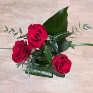 I Love You: 3 Red Roses